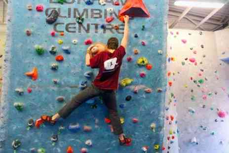 Durham Climbing Centre - Climbing Induction Plus Lifetime Membership - Save 62%