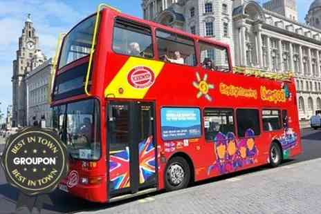 City Sightseeing Liverpool - Hop On Hop Off Bus Tour For Two - Save 55%
