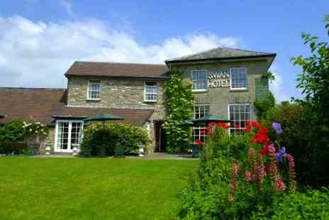 The Swan at Hay Hotel - In Wales One Nights For Two With Breakfast and Cream Tea - Save 44%
