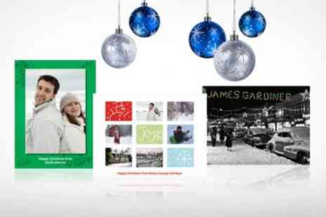 I Do Personalise - Personalised Christmas Cards Pack of 10 - Save 73%