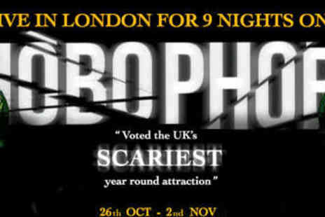 The London Bridge Experience - Standard Entry to Phobophobia Halloween Experience - Save 35%