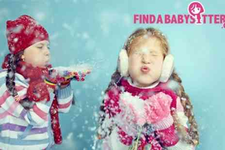 Find a Babysitter - UKs Best Childcare Search Service Findababysitter.com Perfect for the festive time of year - Save 37%