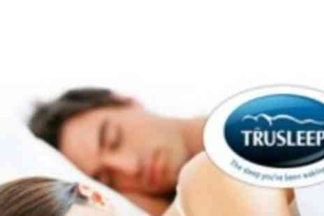 TruSleep - Luxury DOUBLE Airflow Memory Foam Mattress Topper for just £69 (worth £219)! - Save 68%