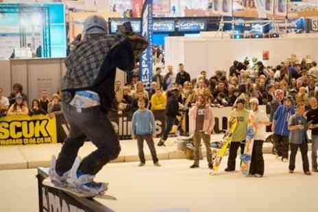 Ski & Snowboard Show - The Telegraph Ski and Snowboard Show With Ice Skating - Save 30%