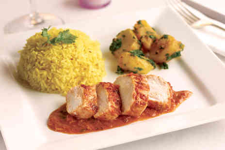 Tandoori Garden - Indian meal for 2 including starter main side & dessert  - Save 67%