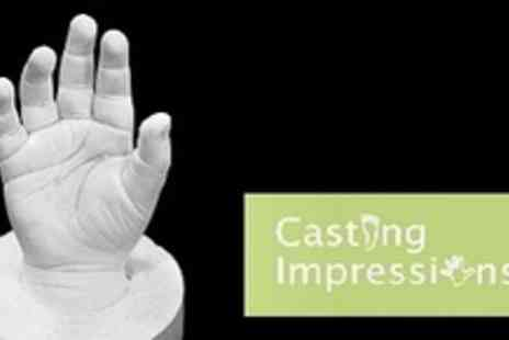 Casting Impressions - 3D Casting Kit or Inkless Imprinting Kit - Save 60%