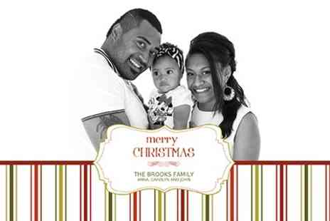 Custard Photography - Christmas Themed Family Photoshoot With Ten Cards - Save 40%