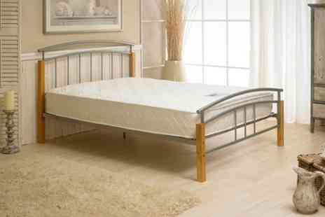 BnMW - Double Bed Plus Mattress - Save 65%