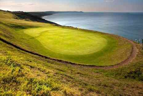 Whitsand Bay Hotel - 18 Holes of Golf Plus Bacon Roll and Coffee For Two - Save 60%