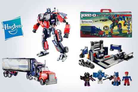 Silver Fishes - Kreo Transformers construction kit  - Save 50%