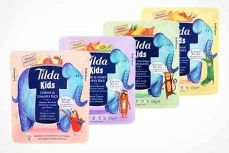 The Sharper Edge - Tilda Rice For Kids Nine Packs In Choice of Flavour - Save 30%