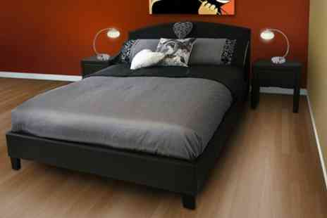 Sleep Design - Barcelona Bed and Two Night Stands - Save 33%