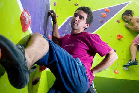 Rock Over Climbing - Hour Long Introductory Climbing Session for One Adult and One Child - Save 52%