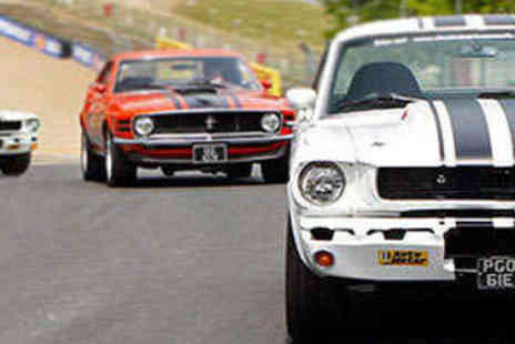 Classic American Muscle - Classic Mustang Driving Experience One Car Over Three Miles - Save 34%
