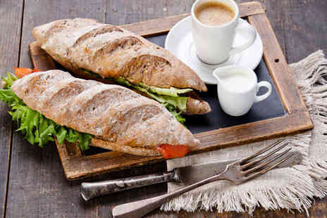 Bay Horse Inn - Lunch of Soup Sandwich and Hot Drink for Two - Save 53%