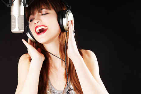 Star for a Day - One hour X Factor recording studio experience for up to 10 - Save 91%