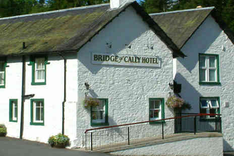 Bridge of Cally Hotel - Two night B&B stay for two - Save 55%