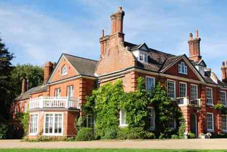The Norfolk Mead Hotel - Norfolk Georgian Country House with Meals & Upgrade - Save 41%
