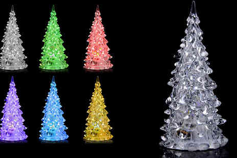 Pearl and Hall Direct - Bring in the festive spirit with coloured lights with this LED christmas tree light with the special price of one - Save 55%
