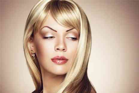 Hair Sanctuary - Cut and Blow Dry With Full Head Colour - Save 63%