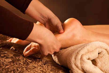 Angel Sourced Holistics - 30 minute reflexology treatment and a leg & foot massage - Save 70%