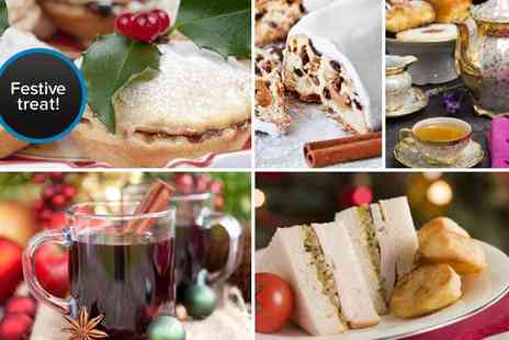 La Cantina - Christmas afternoon tea & mulled wine for two - Save 56%