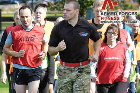 Armed Forces Fitness - Four Weeks of Outdoor Boot Camp Fitness Sessions - Save 70%