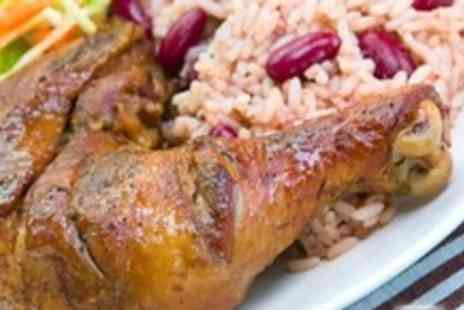 Rhythm Kitchen - Caribbean Fare For Two (£9.25) With Sides and Drinks at Rhythm Kitchen - Save 65%