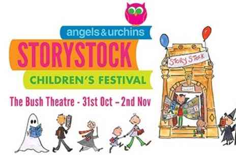 The Bush Theatre - Half term fun StoryStock Festival at The Bush Theatre Be inspired by successful Childrens Authors - Save 40%