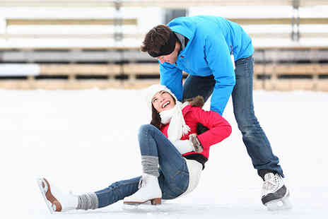 Active Adventures - Ice skating for 1 on Otterspool Promenade - Save 50%