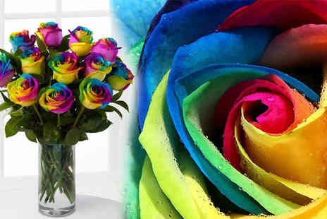 Party Must Haves - Create your own romantic fairy tale garden with these rainbow rose seeds - Save 59%