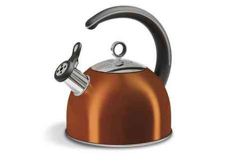 Bentley  Karvel - Morphy Richards Whistling Kettle - Save 50%