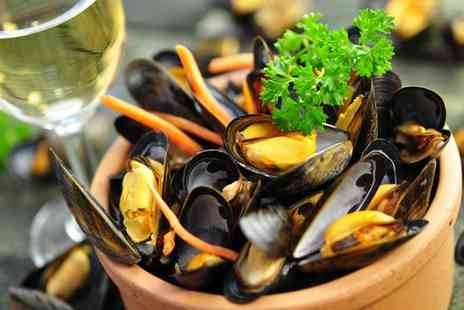 Salernos - Purest luxury  mussels and champagne for two - Save 50%