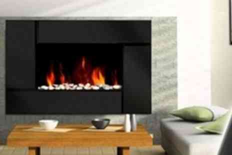 Guaranteed4less.com - Medium Sized Wall Mounted Electric Fire - Save 56%