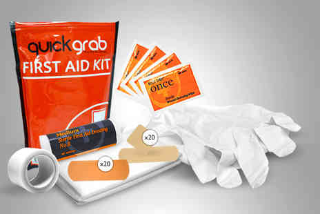 First Aid Warehouse - Quick Grab medium size first aid kit - Save 71%