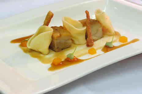 Plumed Horse - Gourmet 8 course tasting dinner with a glass of Champagne for 2 people - Save 32%