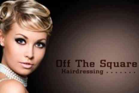 Off The Square Hairdressing - Glamorous Make Up Application With Hair Up or Curl - Save 63%