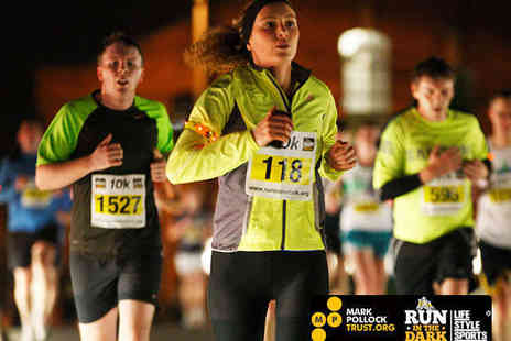 Run in the Dark - Entry to London Run in the Dark 5km or 10km - Save 24%