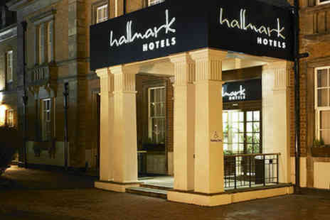 Hallmark Hotel Derby - Two nights bed breakfast afternoon tea with fizz on arriva - Save 50%