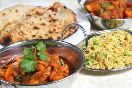 The Curry Cafe - Two course Indian dining for two  - Save 57%