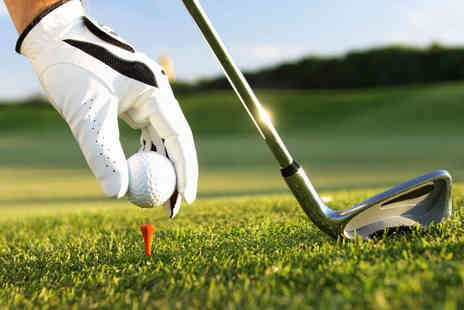 Bishop Briggs Golf Range - Two Hour Trackman Golf Lesson with Refreshments - Save 58%