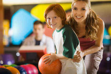 Star Bowl - Two Games of Bowling for Family of Four with a Hot Dog Each - Save 78%