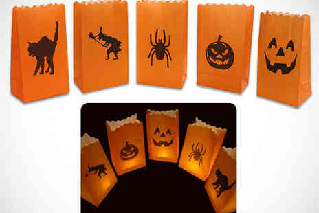 Candle Bags UK - Ten Halloween Candle Bags - Save 67%