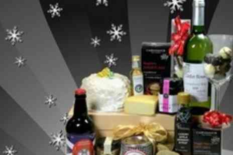 Flavours of Galloway - Luxury Christmas Hamper Including Whisky, Oatcakes, Truffles, and More - Save 64%