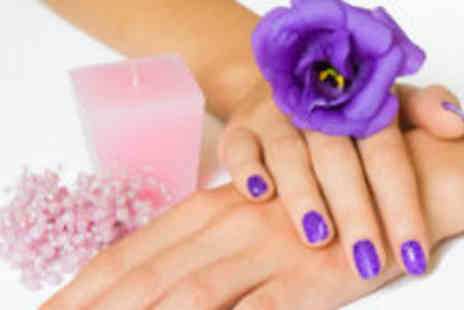 Simply Enhanced - Shellac mani and spray tan - Save 70%