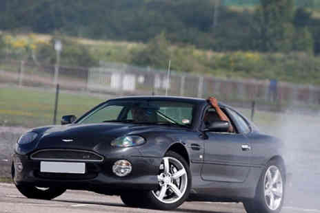 Drift Academy - Exhilarating 12 Lap Aston Martin Driving Experience - Save 77%