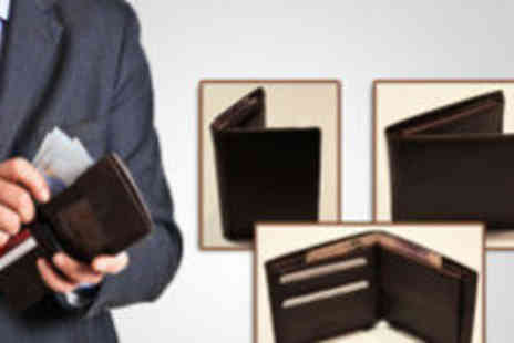 Furniture & Flooring - Small or large Hide Away Nappa leather mens executive wallet - Save 60%