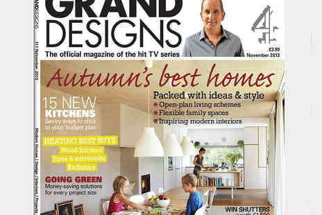 Media 10 - One Year Subscription to Grand Designs Magazine - Save 26%