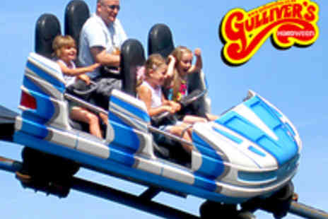 Gullivers Kingdom - Theme Park Entry for One Person During Half Term - Save 37%