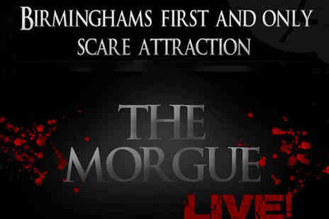Mathew Lee Entertainment - Entry to Terror Attraction The Morgue Live - Save 47%